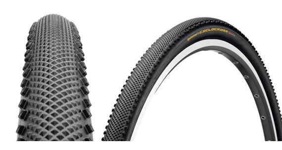 Continental Cyclocross Speed dæk 35-622 Sport ståltrådskant sort